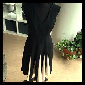 Very flattering little black dress